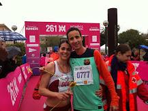 Beatriz Antolín y Manuel Olmedo