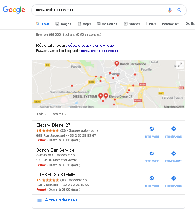 optimiser son entreprise locale sur google