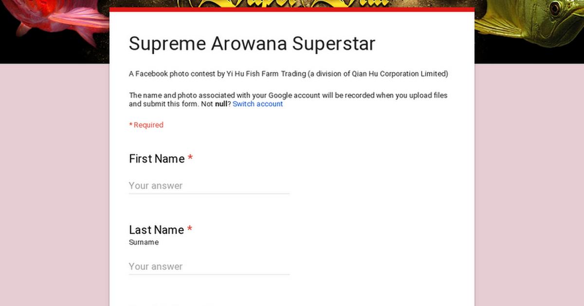 Supreme Arowana Superstar
