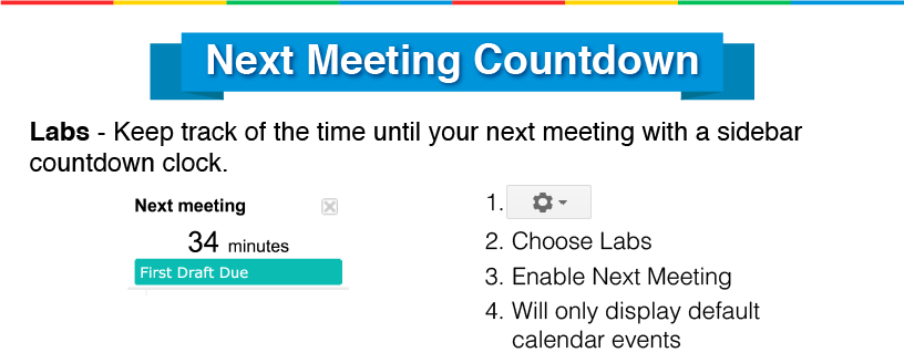 google calendar for meetings