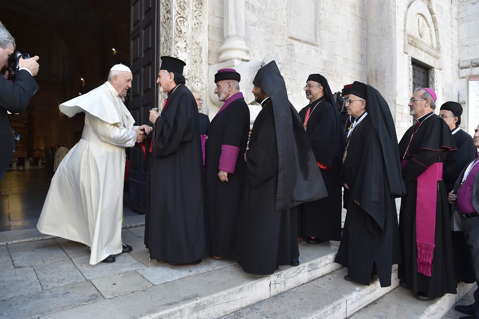 Đức Thánh Cha ở Bari: 'Một Trung Đông không có Ki-tô hữu sẽ không còn là Trung Đông'