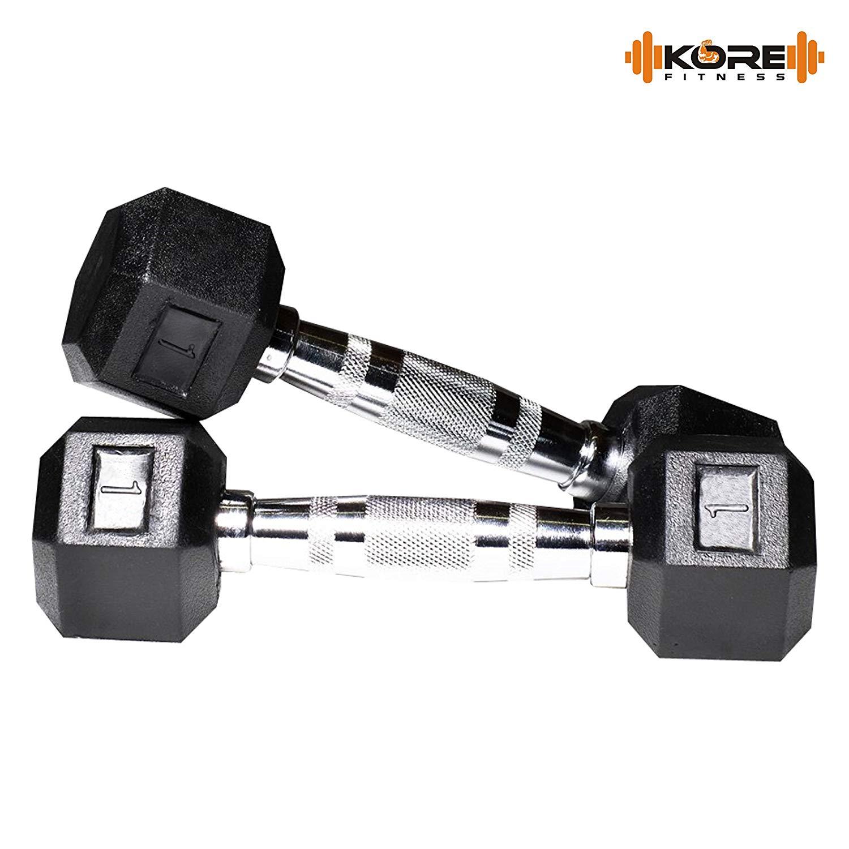 KORE DM 16 HEX-COMBO Dumbbells Kits