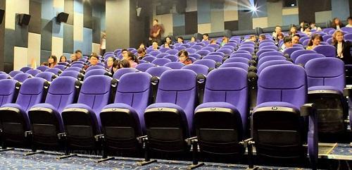 Ghế rạp chiếu phim của nội thất GSC chất lượng tốt giá cả phải chăng