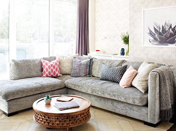 40s: A Comfortable Sofa