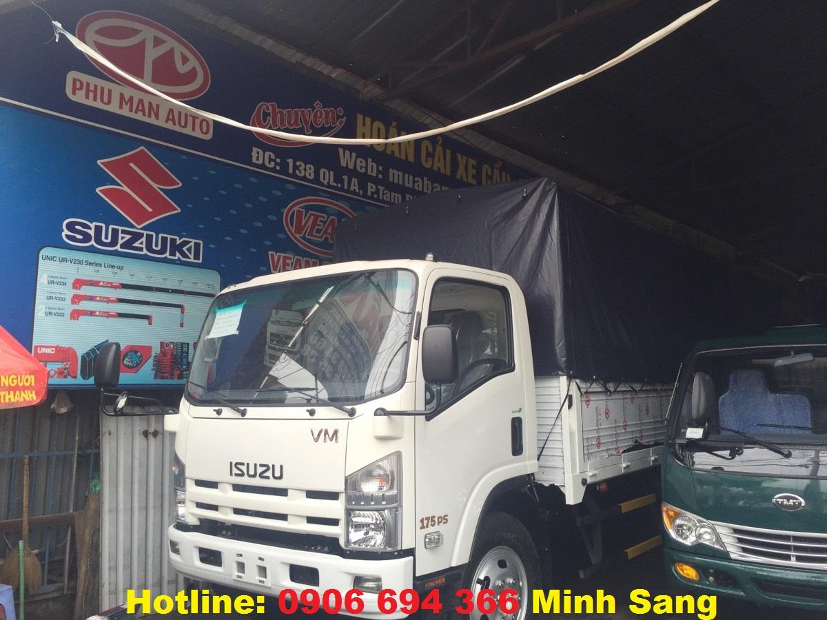 Bán xe tải isuzu 8 tấn / 8.2 tấn/ 8 tấn 2 thùng bạt đời 2016 trả góp lãi suất thấp