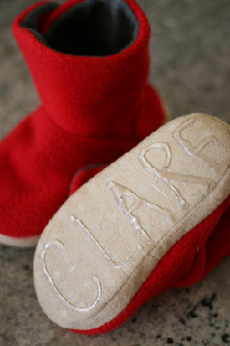 Non-slip addition to kids slippers