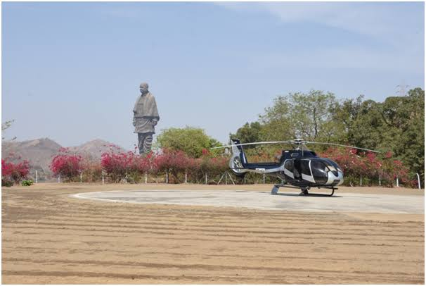 Staute of Unity Helicopter Ride