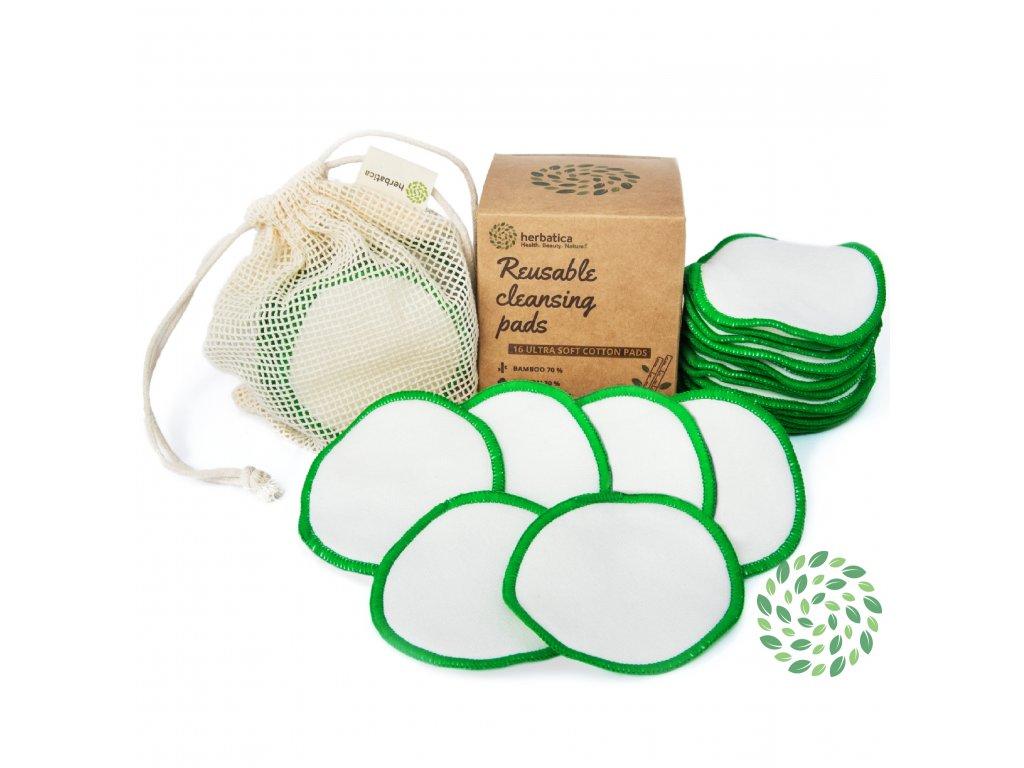 Recenze Herbatica: Bavlněné odličovací tampony