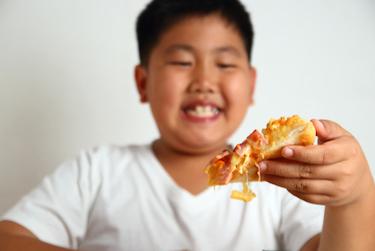 anak obesitas makan