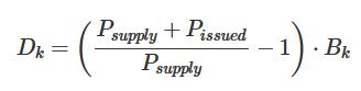 Formula: All-asset deposit