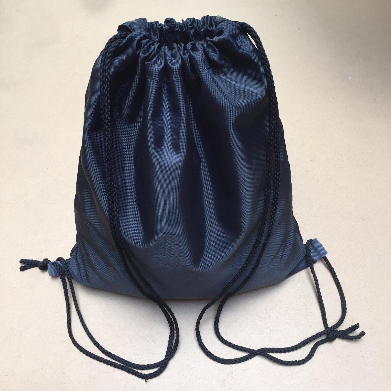 Túi vải dù dây rút