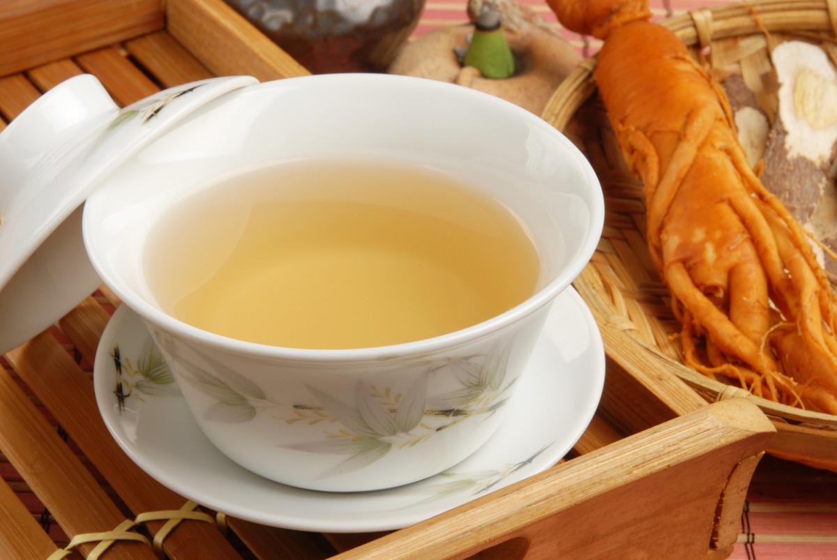 Make American Ginseng Tea