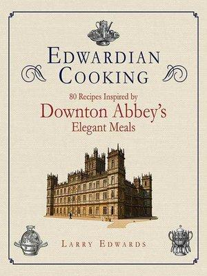 Cover image for Edwardian Cooking