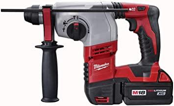 Milwaukee 2605-22 M18 18-Volt Cordless Lithium-Ion 7/8-inch SDS Plus Rotary Hammer Kit