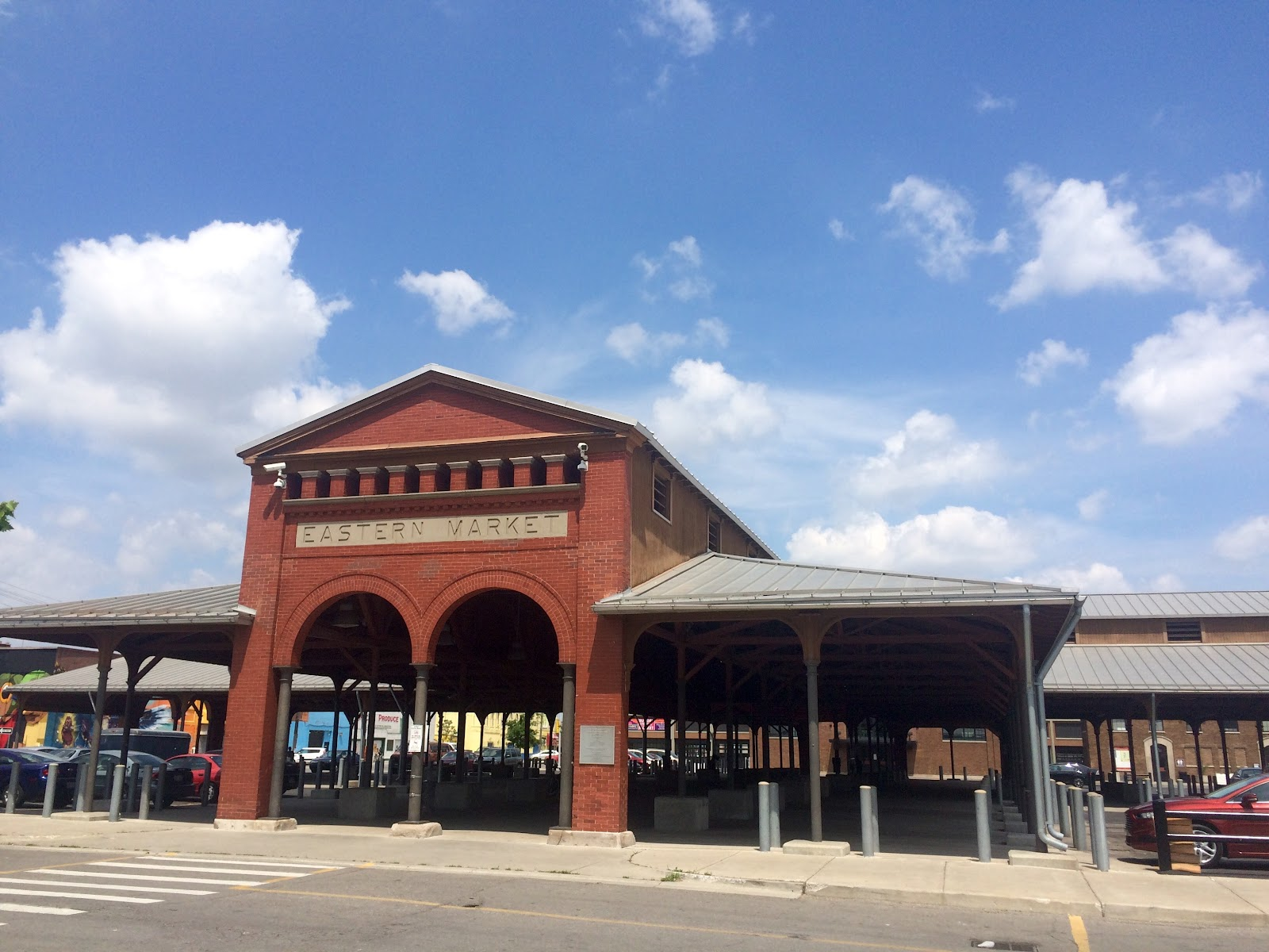 Multiple sheds make up the Eastern Market Corporation's complex, but there is more to the district than just the markets that happen throughout the week.