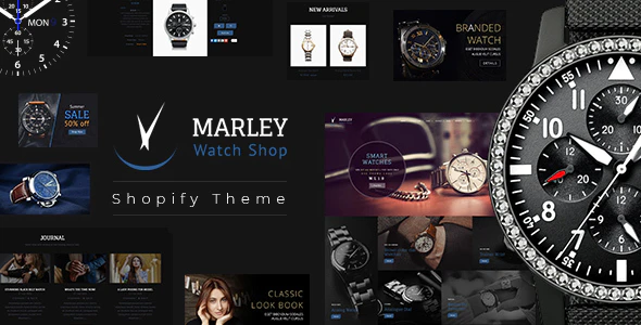 Shopify responsive themes Marley