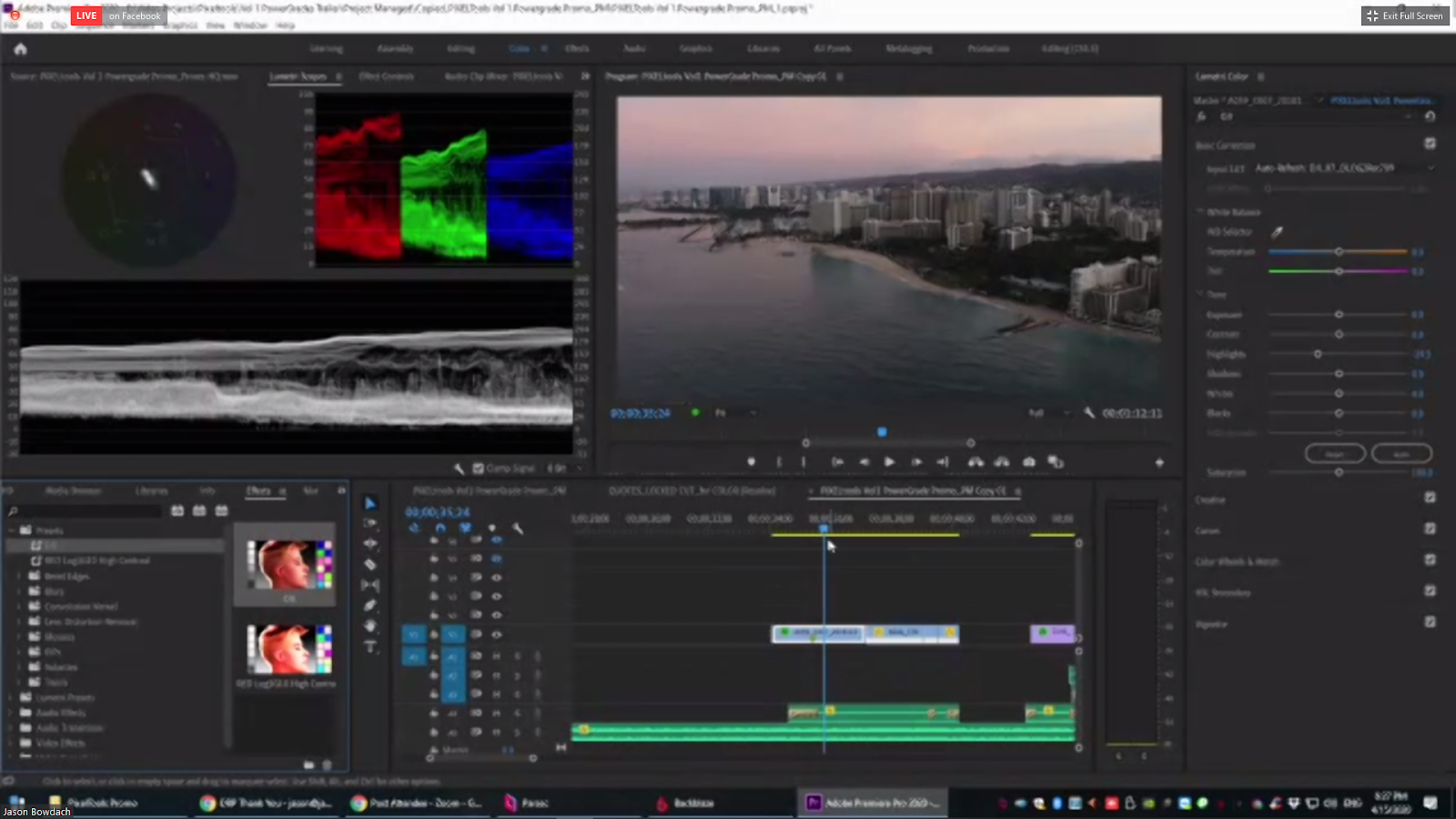 Shot needs more - Color Correction for Film and Television
