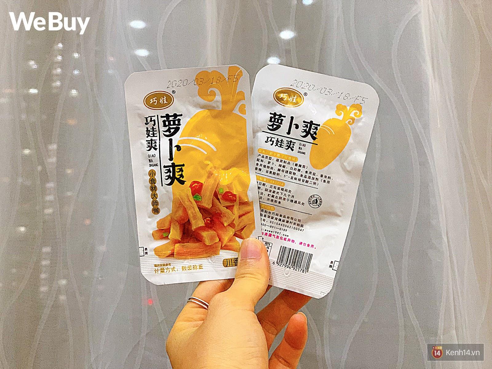 """Review set đồ ăn vặt nội địa Trung Quốc hot hit gần đây: Lung linh hấp dẫn là thế nhưng ăn thử mới thấy như bị... """"lừa tình"""" - Ảnh 6."""