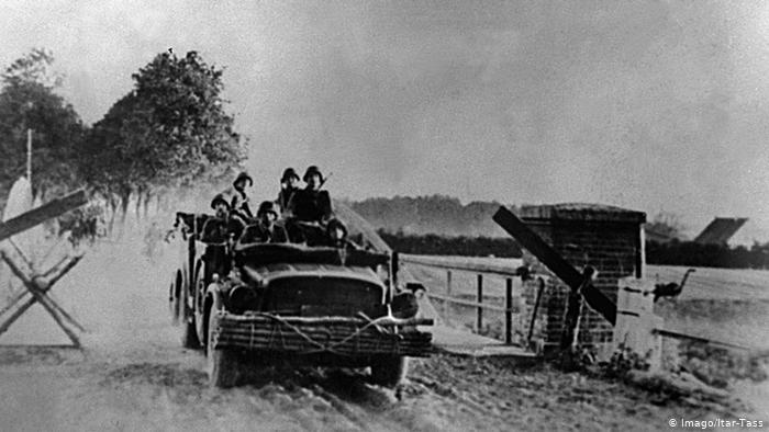 22 июня 1941 года. Начало вторжения вермахта на территорию СССР