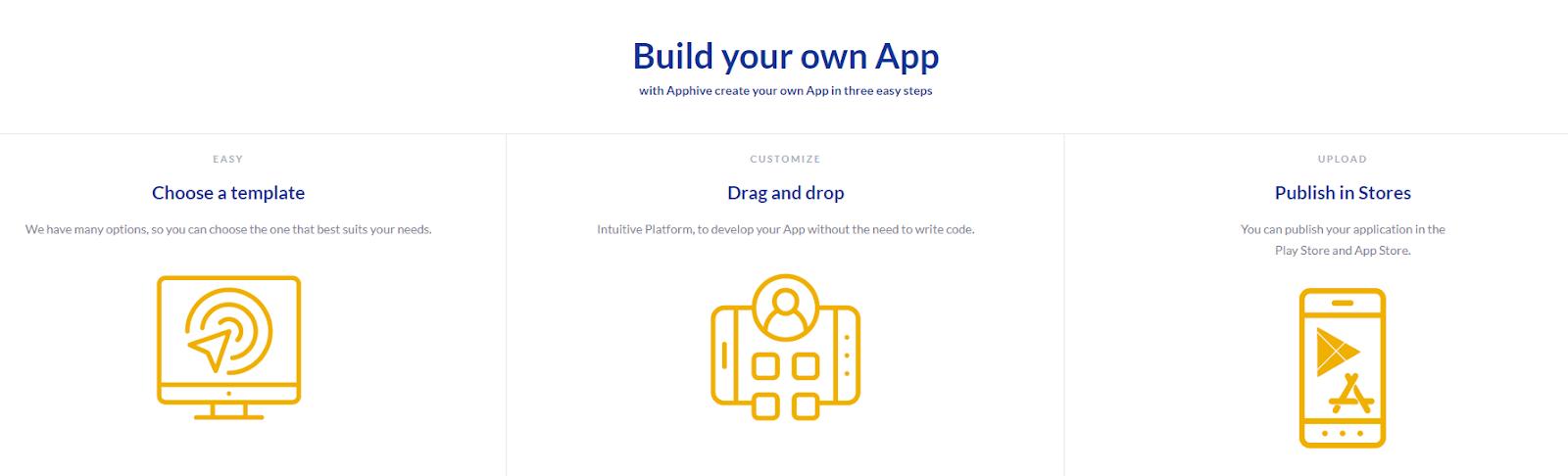 Comparativa de herramientas no-code para crear apps nativas - tR 5