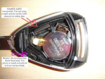 Replace Your Porsche Boxster Cayman Targa 3 Button Half Shell No Programming NEW