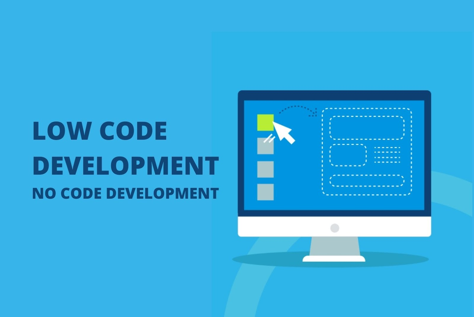 low code and no code development