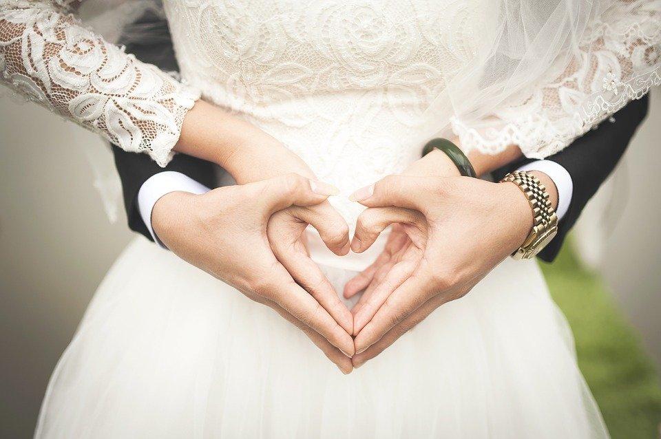 Сердце, Свадьба, Брак, Руки, Романтичный, Выходит Замуж