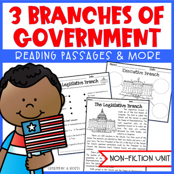 3 Branches of Government Reading Passages