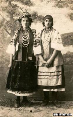 Національне вбрання Донеччини. Єнакієве, 1924 рік