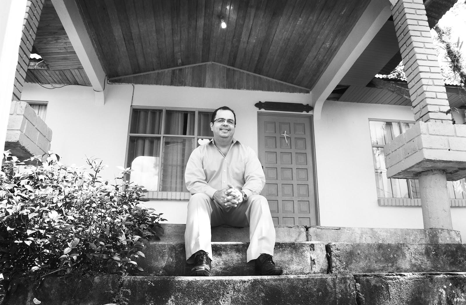En esta casa vivió parte de su infancia, se ubica en Concepción de  la Palmera en San Carlos. (Foto: Ruth Garita/OCM)