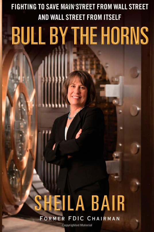 Bull by the Horns: Fighting to Save Main Street from Wall Street and Wall Street from Itself by Sheila Bair