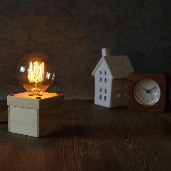 木工體驗-木匠兄妹-木盒夜燈