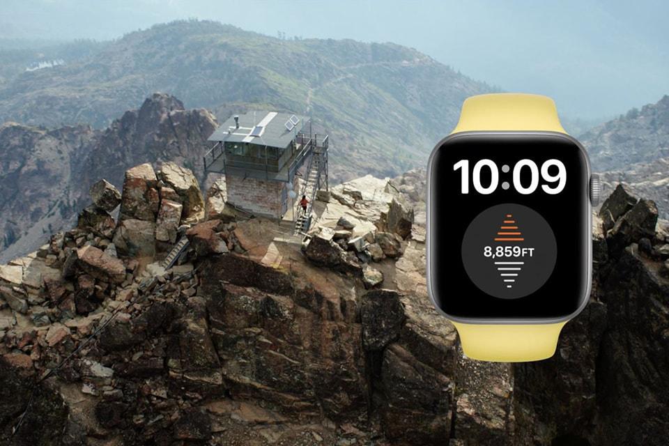 đo độ cao Apple Watch Series 6