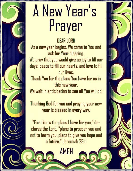 Catholic Prayer New Year | New years prayer, New year prayer quote, Quotes about new year