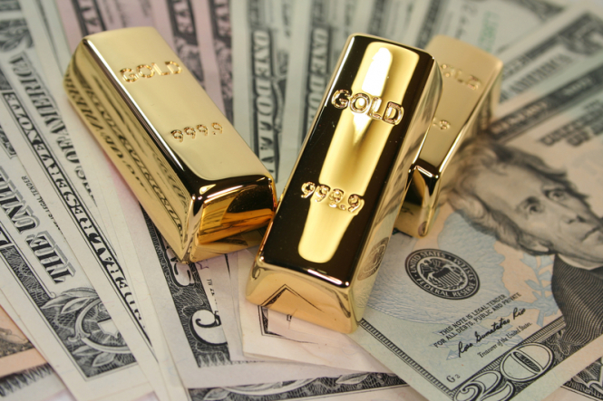 Gold should benefit from a weak dollar