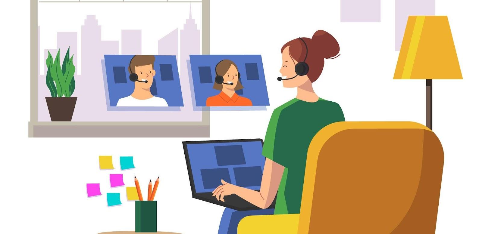 digital marketing trend 2021 trong việc thay đổi hình thức làm việc