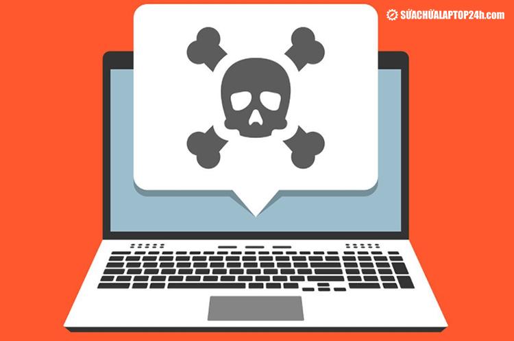 Nhiễm virus khiến bàn phím không thể kết nối
