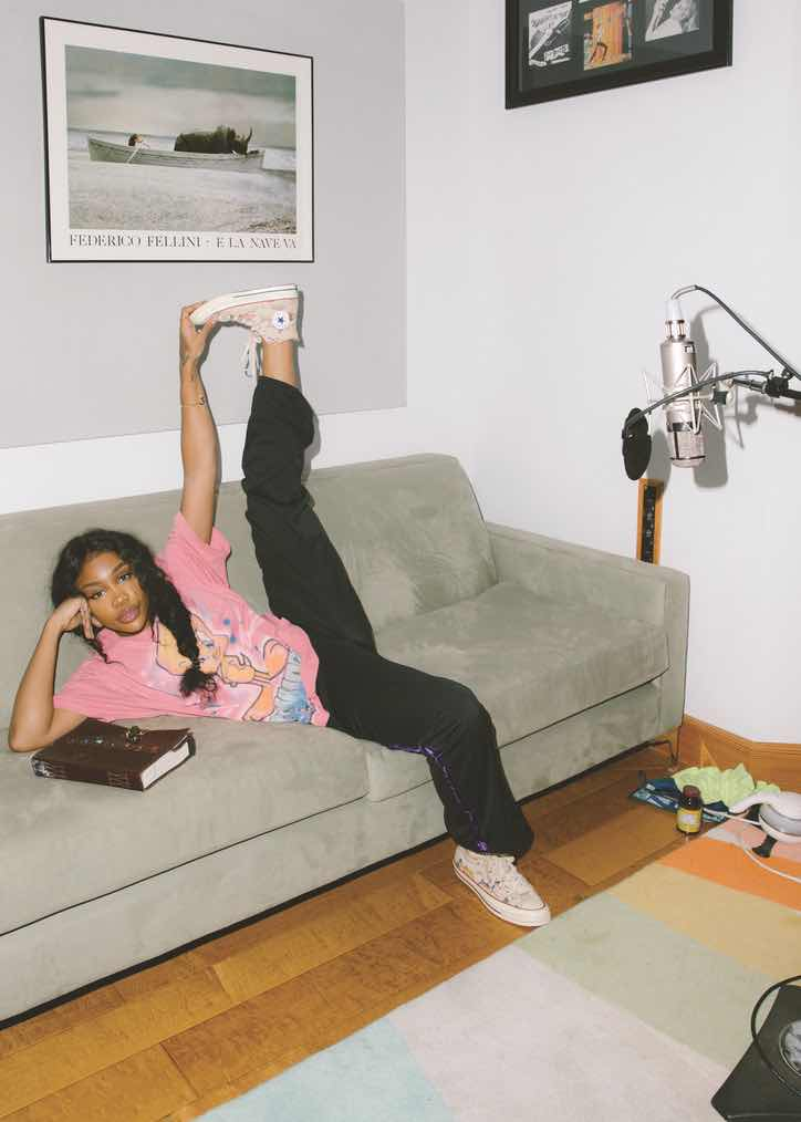 Office Magazine: SZA