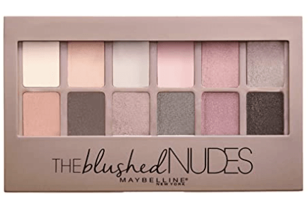 mabelline palette blushed nudes mother's day gift ideas