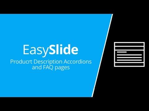 EasySlide - Product description generator
