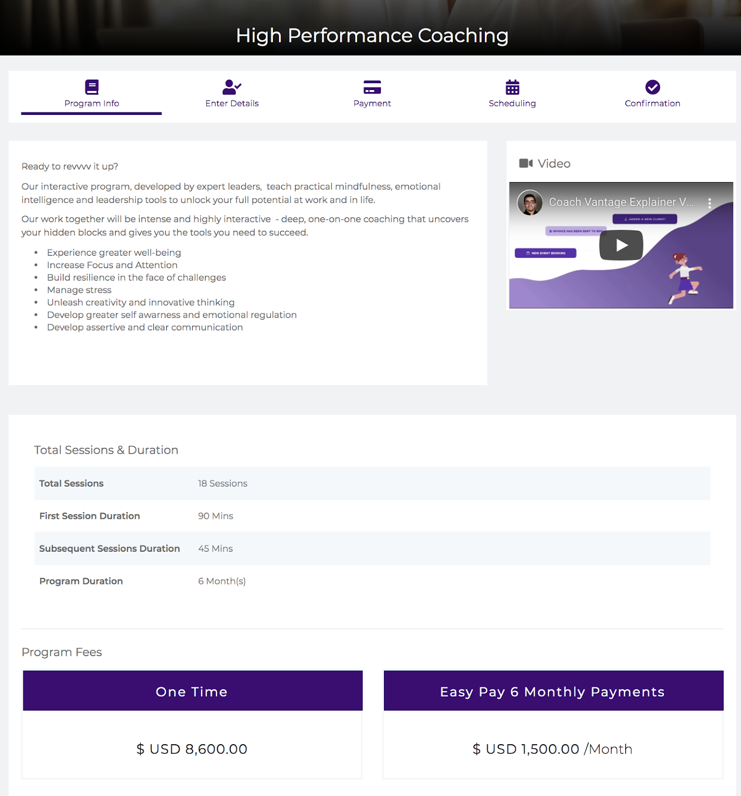 coaching platform