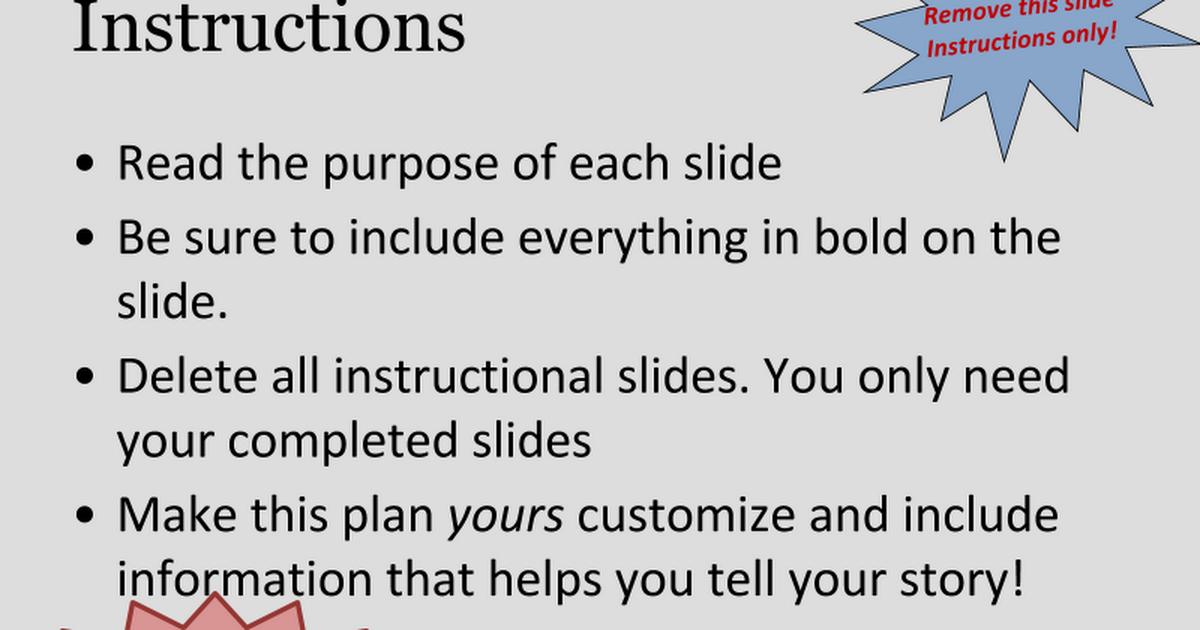 NFTE PPT Business Plan Template Google Slides - Nfte business plan template
