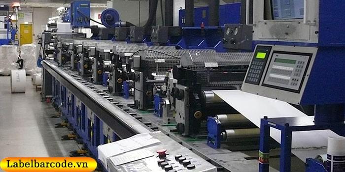 Sở hữu dàn máy in công nghệ flexo hiện đại nhất