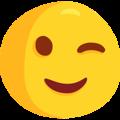 Winking Face on Messenger 1.0