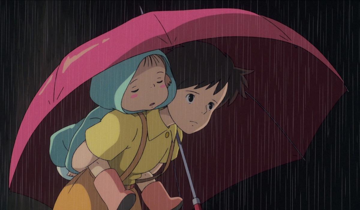 Satsuki and her sister Mei-Ghibli-Movies