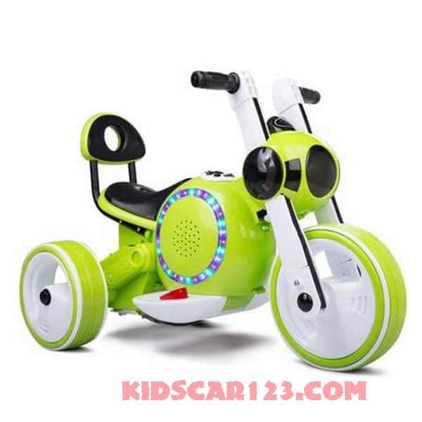 xe máy điện trẻ em KB-903 màu xanh lá