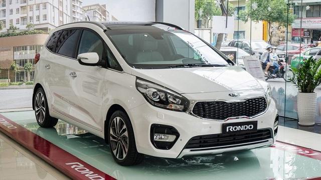 Ngoại thất nổi bật của xe Kia Rondo 2017