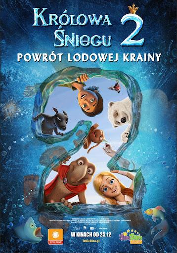 Polski plakat filmu 'Królowa Śniegu 2'