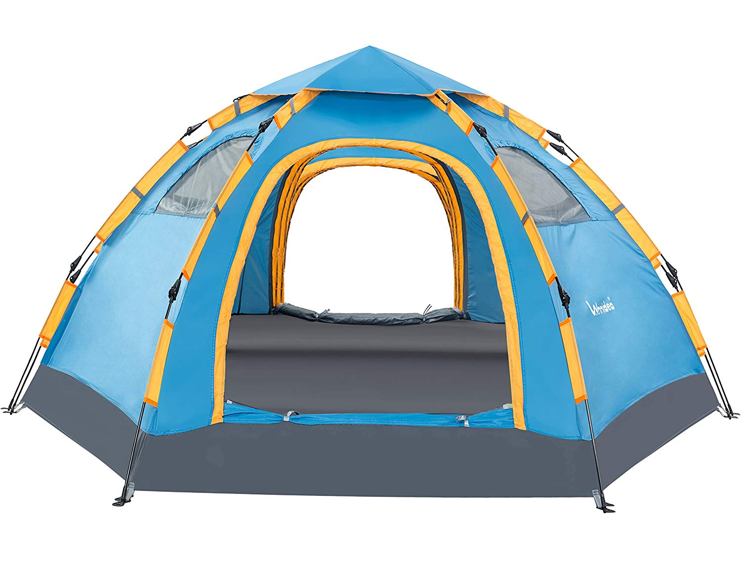 Single girls guide to camping tent pick: Wnnideo 4 Person Pop-up Tent