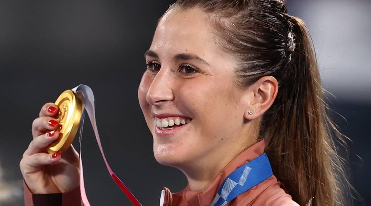 Belinda Bencic đã giành huy chương vàng đơn nữ tại Thế vận hội Tokyo 2021